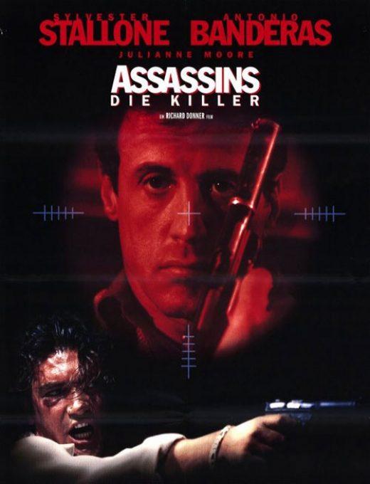 دانلود فیلم آدمکش ها Assassins 1995 دوبله فارسی از سیلوستر استالونه