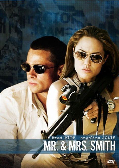 دانلود فیلم آقا و خانم اسمیت Mr And Mrs Smith 2005 دوبله فارسی از برد پیت