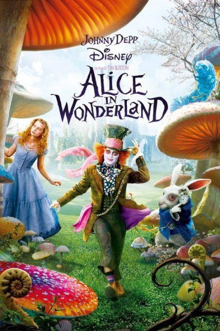 دانلود فیلم فانتزی آلیس در سرزمین عجایب از جانی دپ 2010 دوبله فارسی