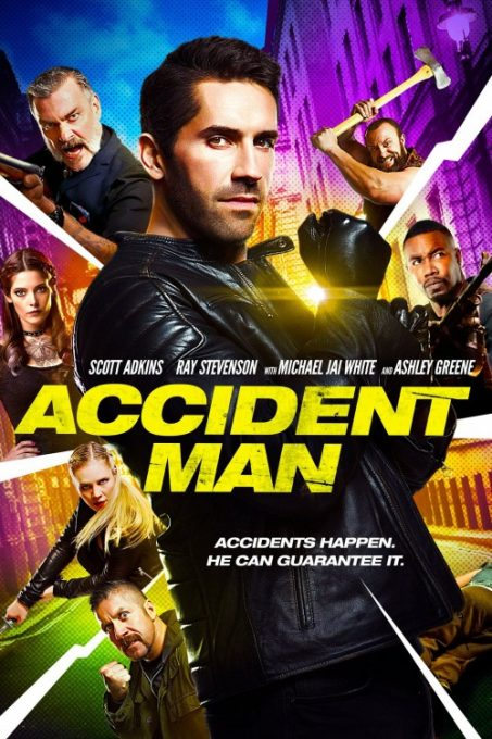 دانلود فیلم رزمی مرد حادثه Accident Man 2018
