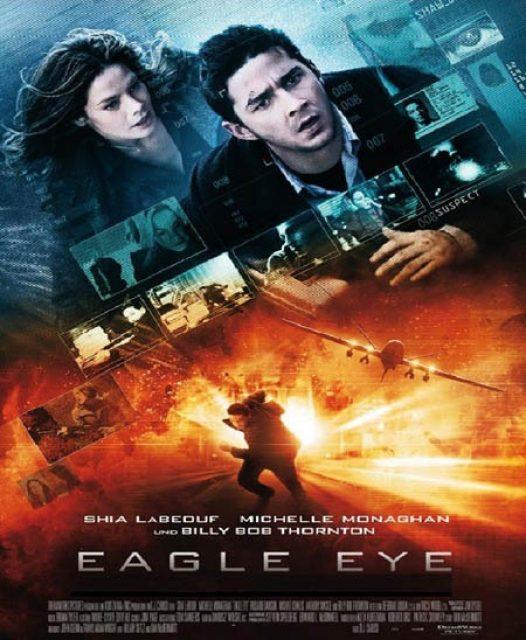 دانلود فیلم اکشن چشم عقاب Eagle Eye 2008 دوبله فارسی