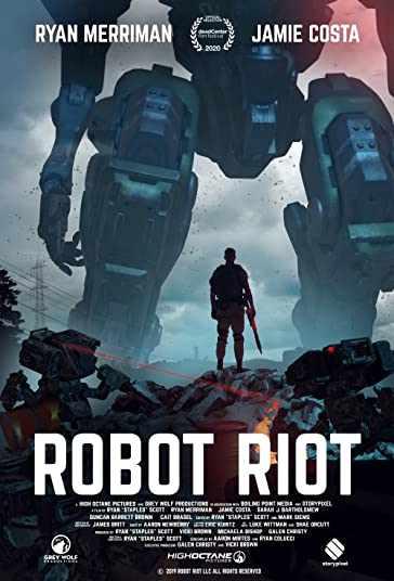 دانلود فیلم Robot Riot 2020