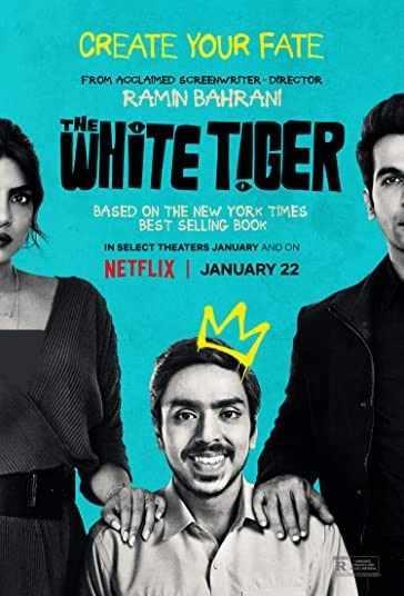 دانلود فیلم هندی The White Tiger 2021 ببر سفید